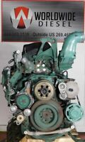 2014 Volvo D13 Diesel Engine, 455 HP,  Turns 360, For Rebuild Only.