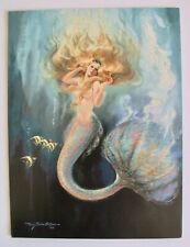 Vintage Mermaid Greeting Card Catch Of The Day Mary Boxter St. Clair Birthday