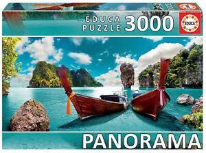 Educa 18581 - Phuket, Thailand - 3000 pieces - Panorama Series Puzzle