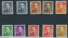 Norway 418-427 (complete issue) with hinge 1958 King Olaf V. (9339748