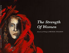 STRENGTH OF WOMEN COFFEE TABLE BOOK BY ARTIST MICHAEL TOLLESON AUTISTIC SAVANT