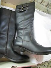 NEW BORN SHARLENE BLACK TALL BOOTS WOMENS 7  KNEE HIGH C15009