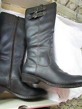 NEW BORN SHARLENE BLACK TALL BOOTS WOMENS 6 KNEE HIGH C15009