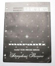 MARANTZ 1530/MR230/MR235 SERVICE MANUAL ORIGINAL PAPER
