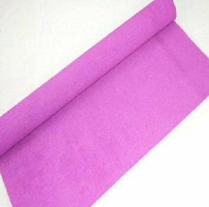 1 Dark Lilac Crepe paper Roll 10 metres x 50cm by shop@clikkabox