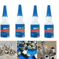 20g Loctite 406/416/496/495 Sofortklebstoff Kleber Sekundenkleber Henkel S6F1