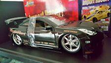 Toyota CELICA tuning black metal gold Jada Toys 1/18 import racer JADATOYS