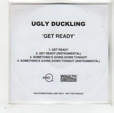 (FW149) Ugly Duckling, Get Ready - DJ CD