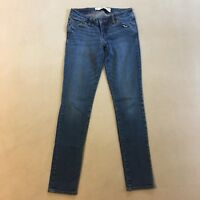 Abercrombie & Fitch Womens Juniors The A&F Super Skinny Jeans Size OS W25 L29