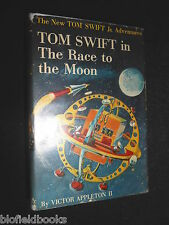 Tom Swift in The Race to the Moon - Victor Appleton II - 1958-1st US, Children's