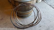 5 used Wine Barrel Willow Hoops From Napa Valley Winery