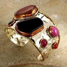 New Tara Mesa Multi-Stone Glowing Cuff Bracelet