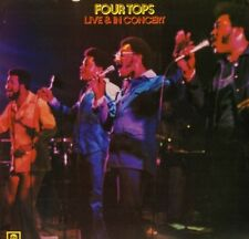 FOUR TOPS live and in concert ABCL 5062 uk abc 1974 LP PS EX/EX