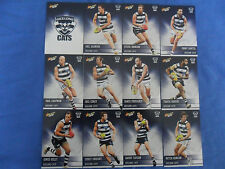 2012 SELECT CHAMPIONS AFL CARDS GEELONG CATS BASIC TEAM SET