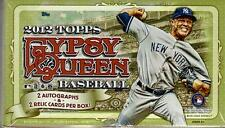 2012 Topps Gypsy Queen Baseball Factory Sealed Hobby Box - 2 Autographs Per Box