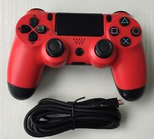 New USB Wired Dualshock Game Controller Gamepad For Sony PS4 Playstation 4 Red