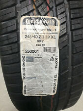 1 New 245 40 19 Continental Extreme Contact DWS06 Tire