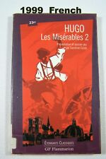 Les Miserables 2 Victor Hugo French Edition 1999 Paperback Jean Valjean Cosette