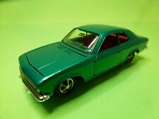 MARKLIN OPEL MANTA A - METALLIC GREEN 1:43 - GOOD CONDITION