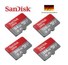 SanDisk Ultra Micro SD Karte SDXC Speicherkarte 64GB 128GB 200GB 256GB 100MB/s