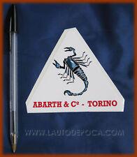 ADESIVO ABARTH TORINO - FIAT 500 600 850 124 A112