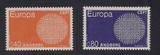 Andorra-Fr. 1970 Sc #196-97 Europa MNH Scv.$22 (3-4466)