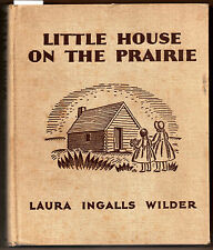 Laura Ingalls Wilder, Little House on the Prairie, HC, second printing, 1935