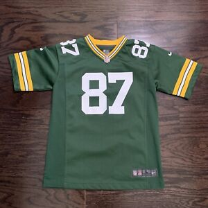 Nike Jordy Nelson #87 NFL Football Green Bay Packers Jersey Youth Size Large