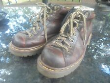 Doctor Doc Martens Dr. Martens Womens Brown High Top Boots Shoes UK SZ 4 US Size