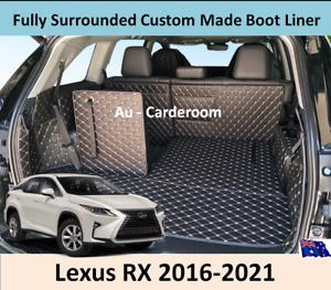 Lexus RX 2016-2021 Premium Custom Made Trunk Boot Mats Liner Cargo Mat Cover
