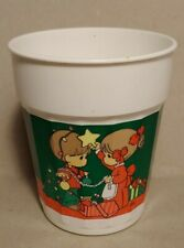 Precious Moments Christmas Plastic Cup