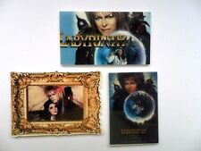 THREE  x David Bowie Labyrinth  Flatbacks  Cards / Badges Bows etc