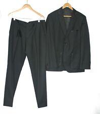 Boss By Hugo Boss Size GB 50 Black Lightweight Wool The Tramp Dinner Suit