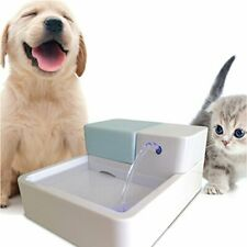 Uniclife Pet Water Fountain, Dog Cat Automatic Electric Drinking Bowl with LED L