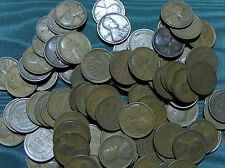 1920-D Lincoln Wheat Cent FULL ROLL average circulated penny $2.99 combined S&H