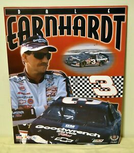 DALE EARNHARDT 3 NASCAR Racing Chevrolet Chevy GM Goodwrench 16x20 Poster