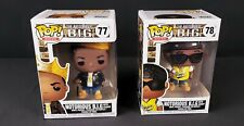 Funko Pop Rock- Notorious B.I.G  #77 & #78 - Vinyl Figure - Sold as set