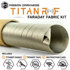 TitanRF Faraday Fabric - Pro Construction Kit XL50 (50 yds fabric + 20ft tape)