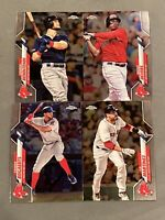 BOSTON RED SOX 2020 Topps Chrome Base Team Set (4 Cards) Benintendi-Devers+