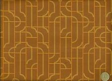 Crypton® Maharam Fiddle Teak clay Modern Mosaic Geometric Upholstery Fabric