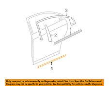 Chevrolet GM OEM 08-12 Malibu REAR DOOR-Body Side Molding Left 22760524