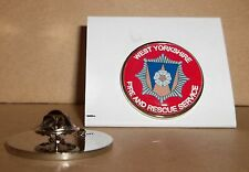 West Yorkshire Fire and Rescue Service Lapel pin badge