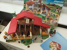 Playmobil 4190 Pony Farm House / Horse Stables play set