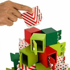 Traditional Wooden Christmas Advent Calendar Model Choice New Home Decoration