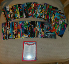 SPIDER-MAN II 30th Anniversary 1962-1992 Comic Images 90 Card Marvel Set w/Case