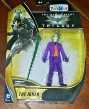 New Batman: The Dark Knight Trilogy THE JOKER Action Figure with Smashing Staff!