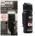 MACE 18 Ft DISTANCE DEFENSE Pepper STICKY GEL Spray FLIP TOP Self HOME Defense