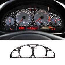 For BMW E46 M3 1998-2005 Carbon Fiber Car inside Instrument Panel trim decor 1X