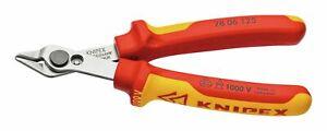 Knipex Elektronik-Seitenschneider VDE 125 mm Super Knips - 78 06 125