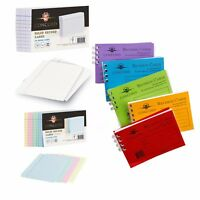 Revision / Flash / Index Ruled Record Cards - buy more, save up to 60%